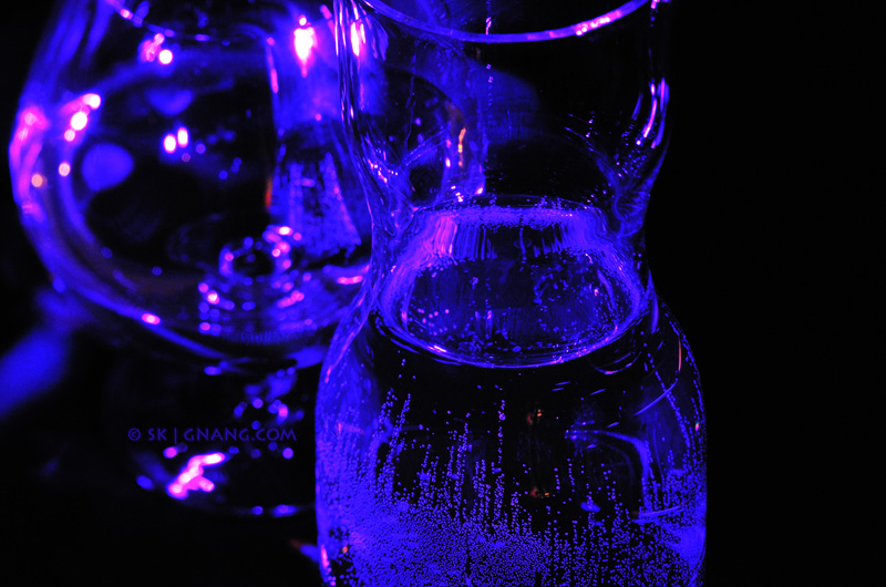 reflection and refraction in glass vases 0810